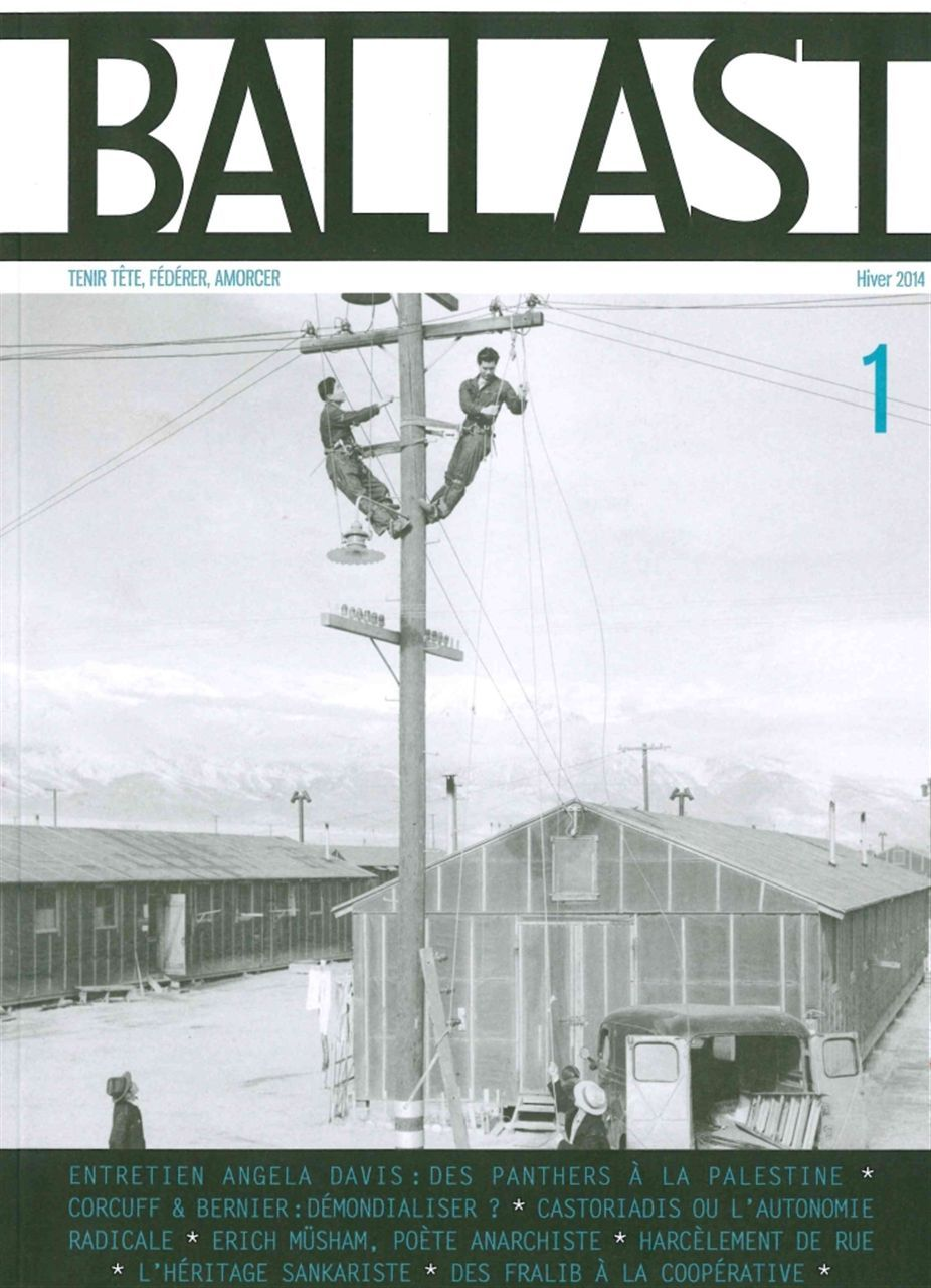 REVUE BALLAST N 1 - TENIR TETE,FEDERER,AMORCER