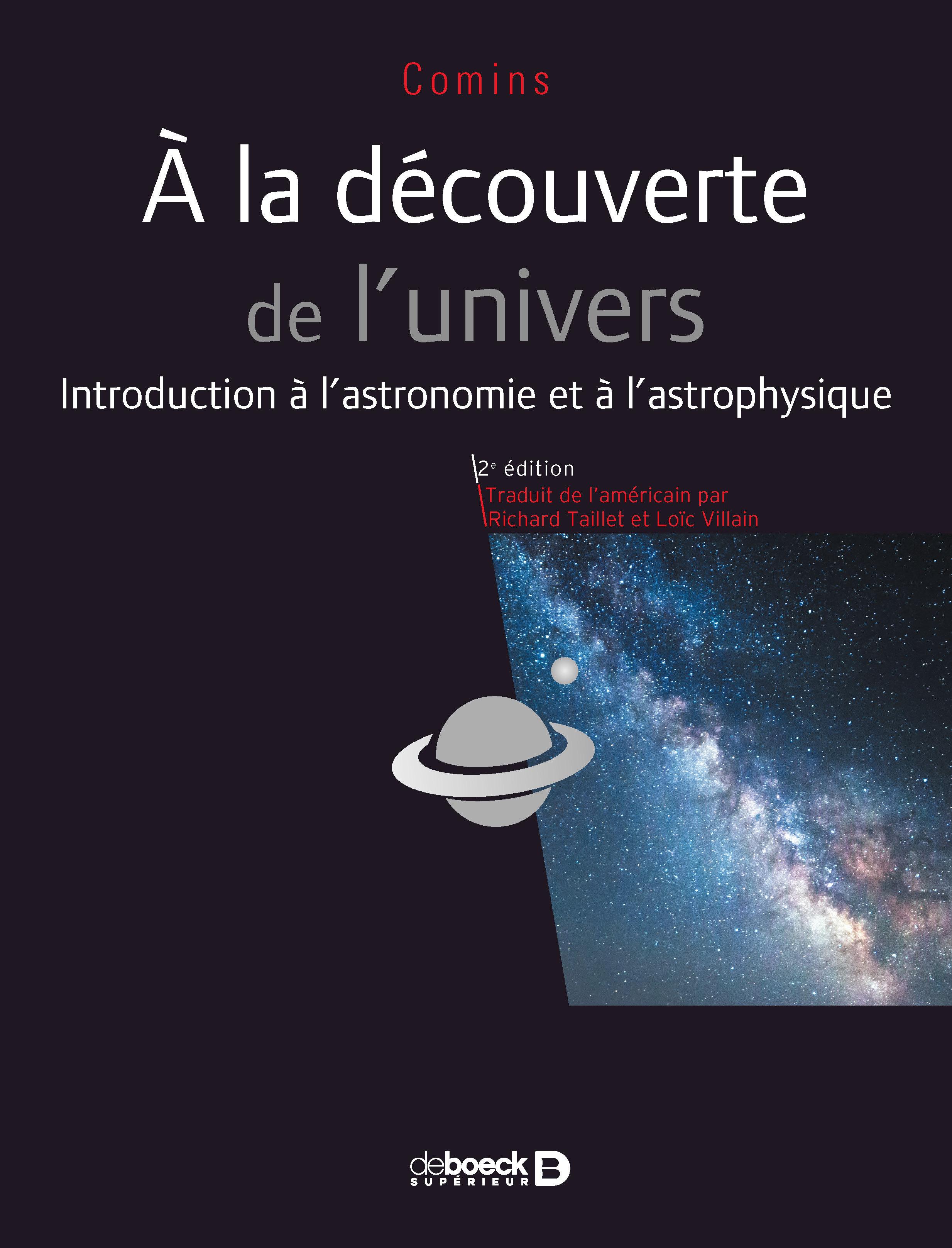 A LA DECOUVERTE DE L'UNIVERS 2ED