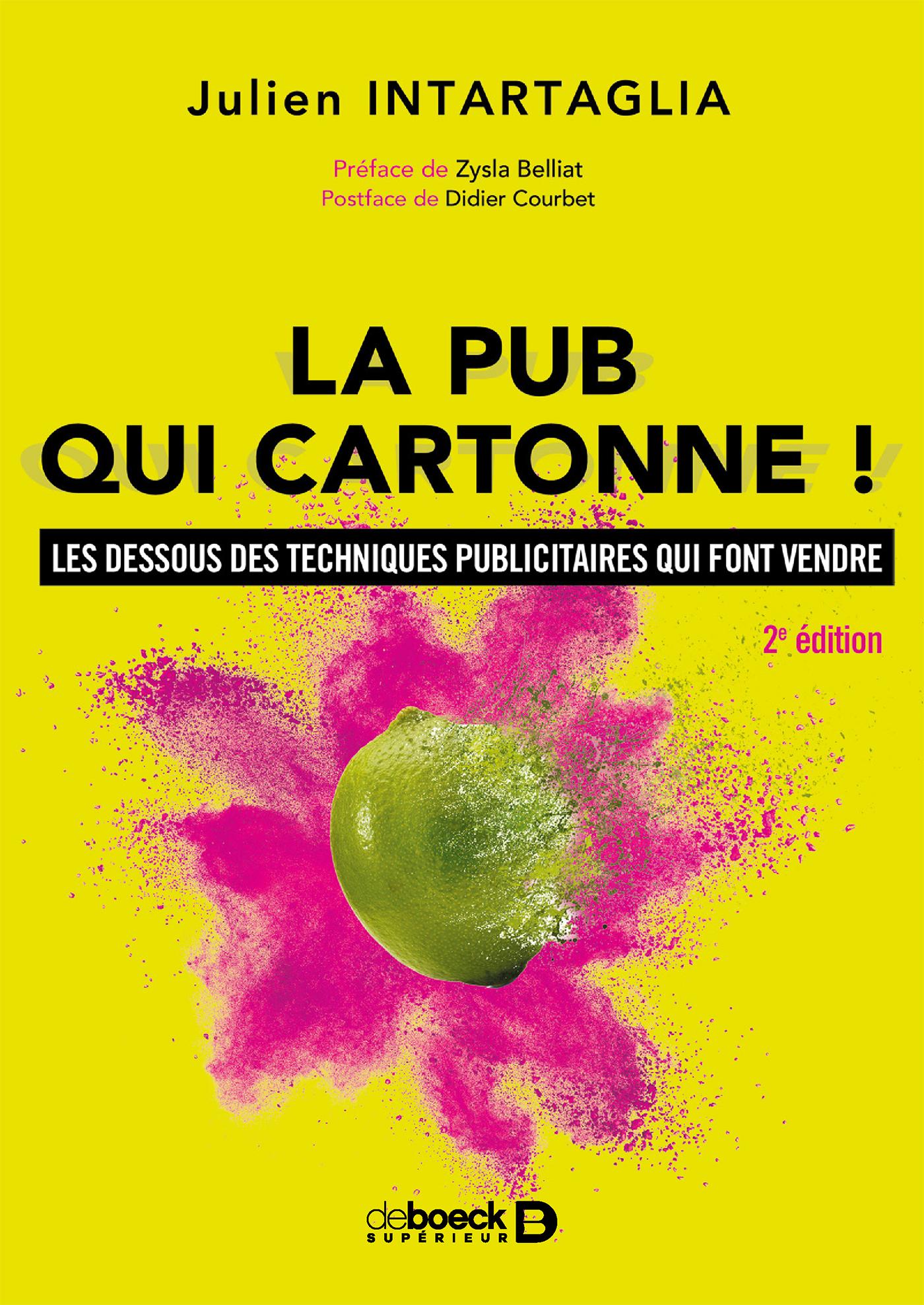 LA PUB QUI CARTONNE !