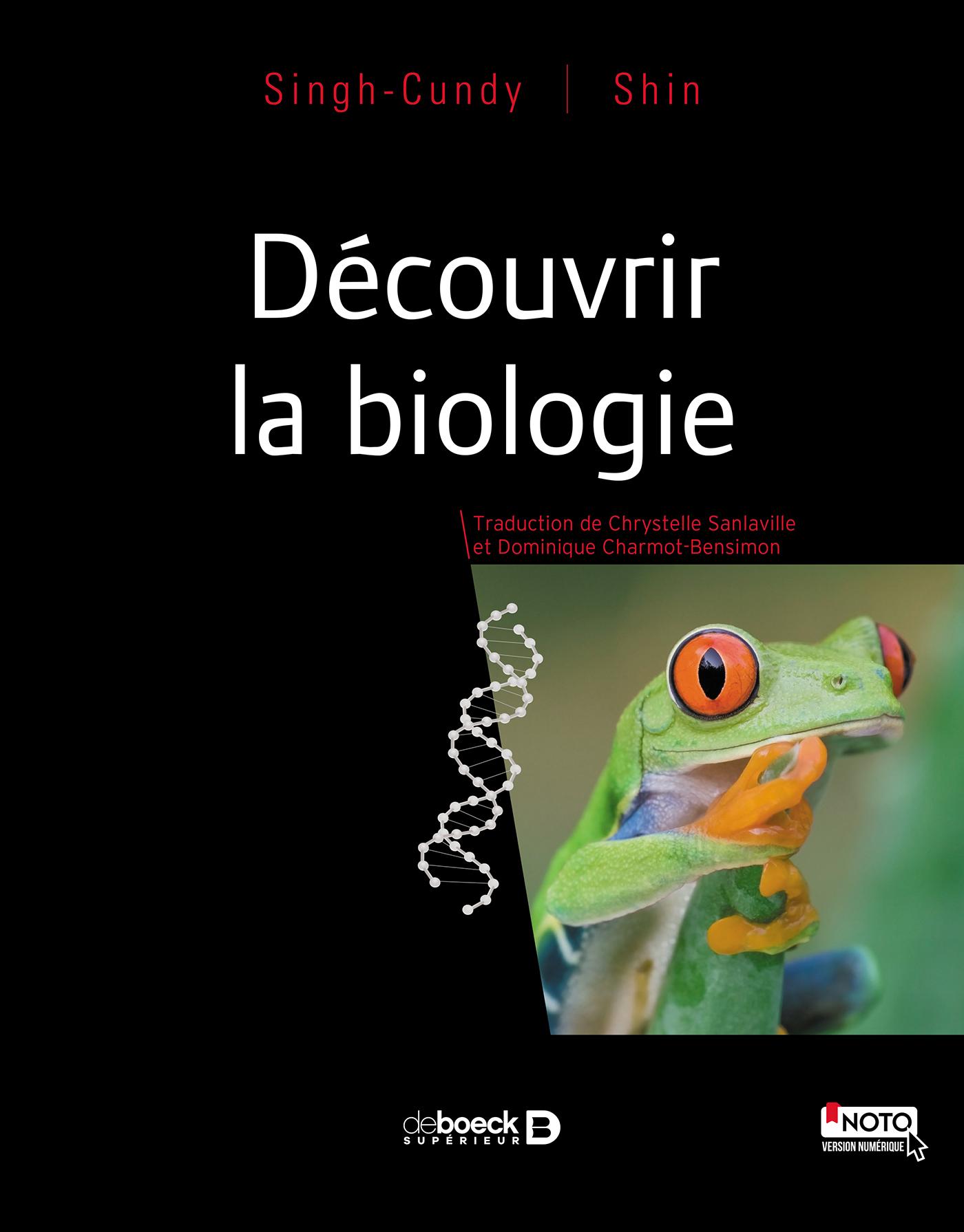 DECOUVRIR LA BIOLOGIE