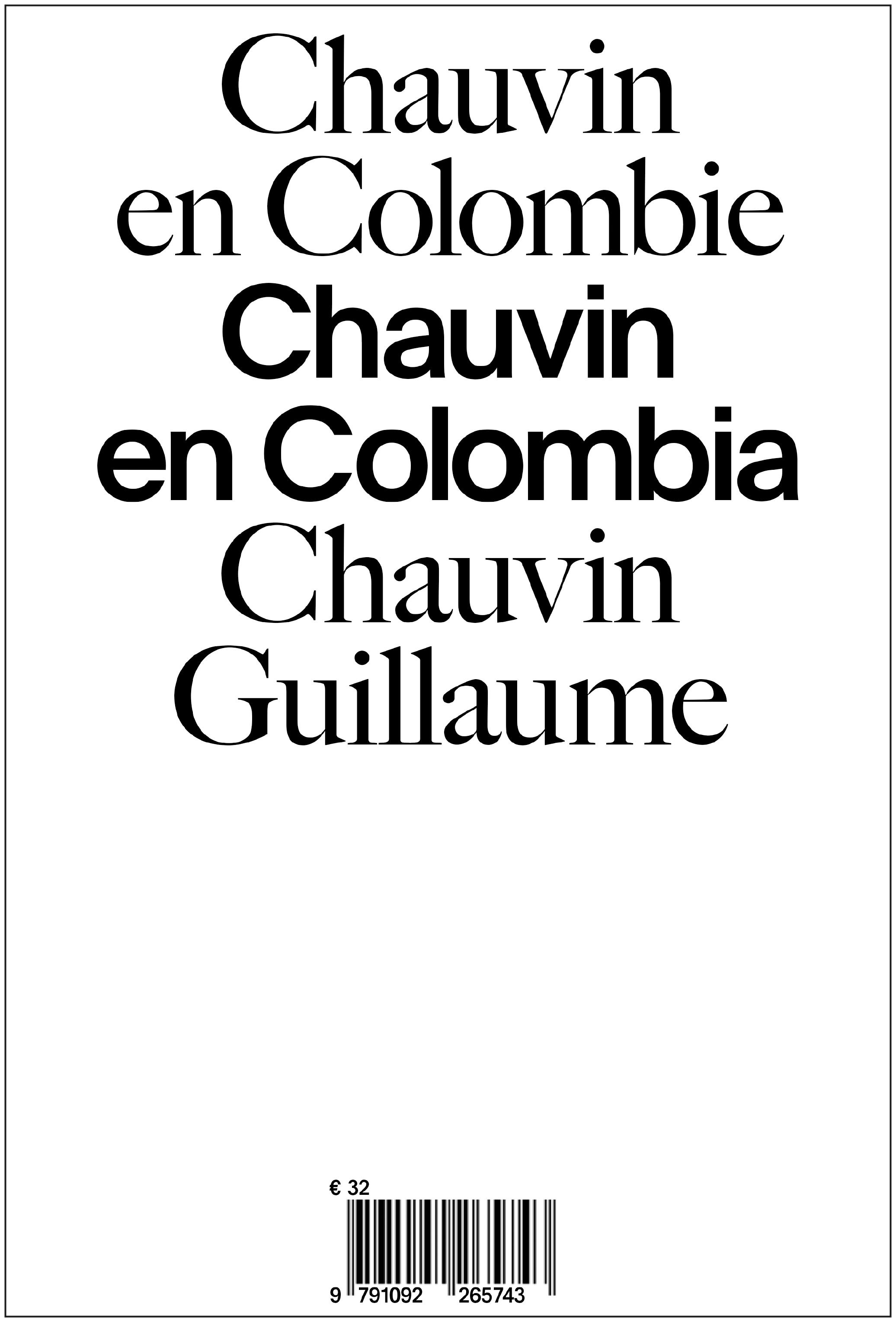 CHAUVIN EN COLOMBIE