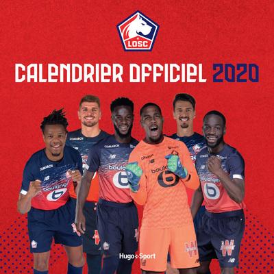 CALENDRIER MURAL OFFICIEL LOSC 2020