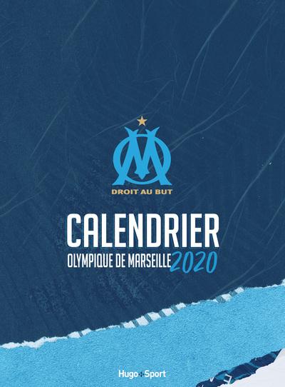 CALENDRIER MURAL OFFICIEL OLYMPIQUE DE MARSEILLE 2020