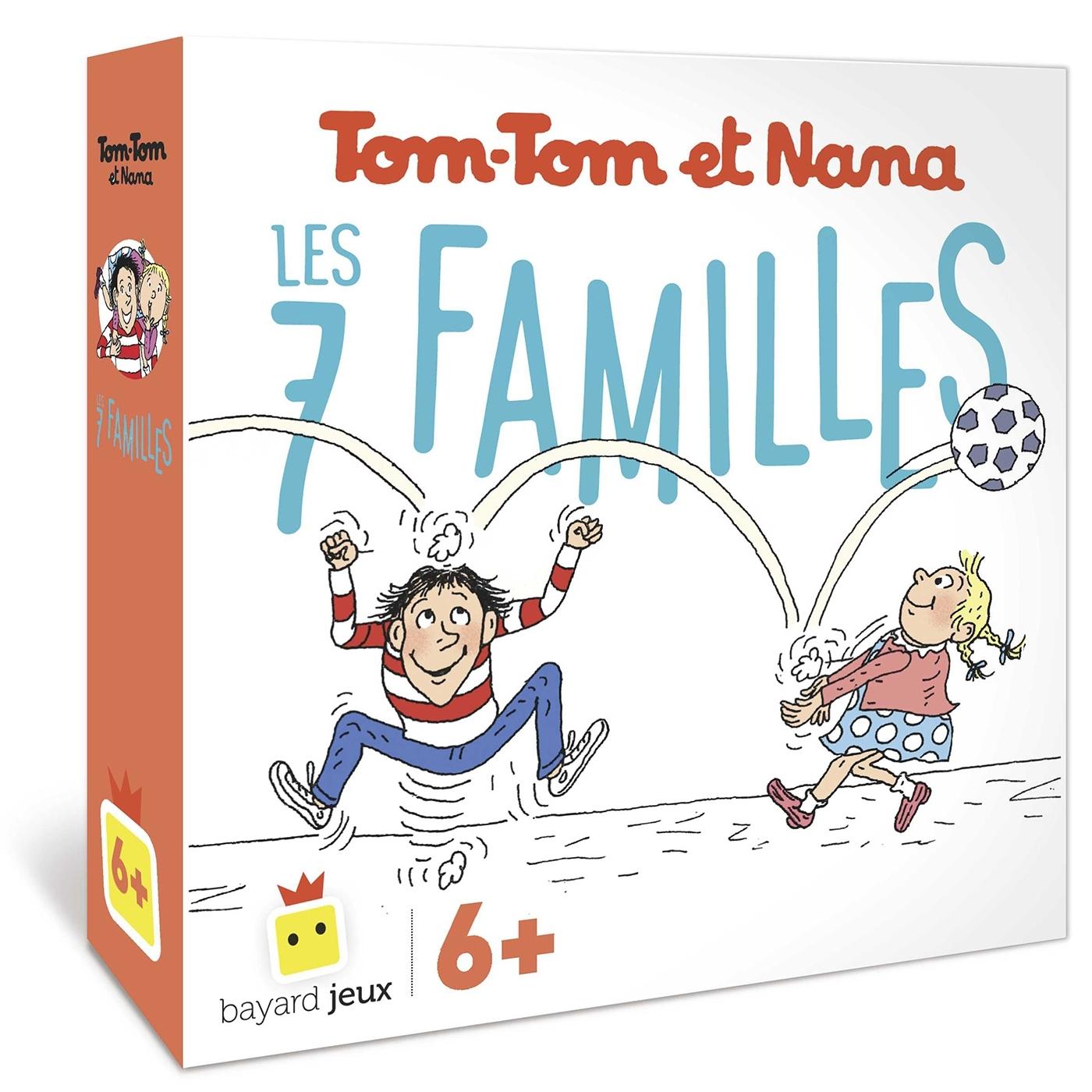 JEU DE 7 FAMILLES TOM-TOM ET NANA - BLACKROCK
