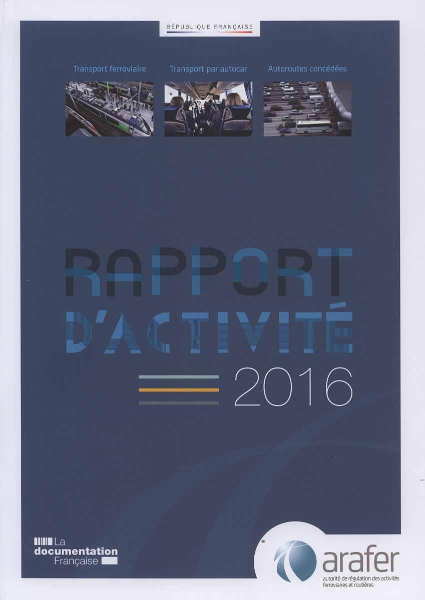 RAPPORT D'ACTIVITE 2016 DE L'ARAFER