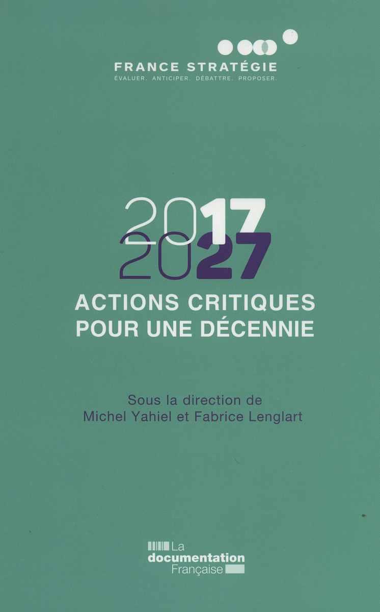 2017-2027 ACTIONS CRITIQUES POUR UNE DECENNIE