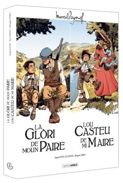 M. PAGNOL EN BD : ECRIN LA GLORI DE MOUN PAIRE/LOU CASTEU DE MA MAIRE