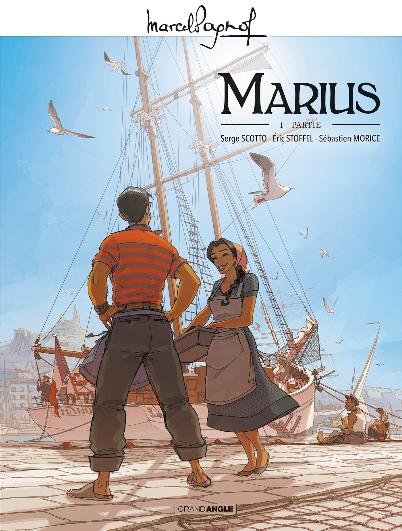 MARCEL PAGNOL EN BD - M. PAGNOL EN BD : MARIUS - VOLUME 01