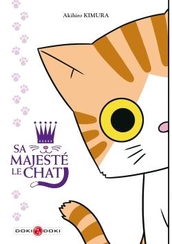 SA MAJESTE LE CHAT - PLANCHE DE STICKERS OFFERTE - T1