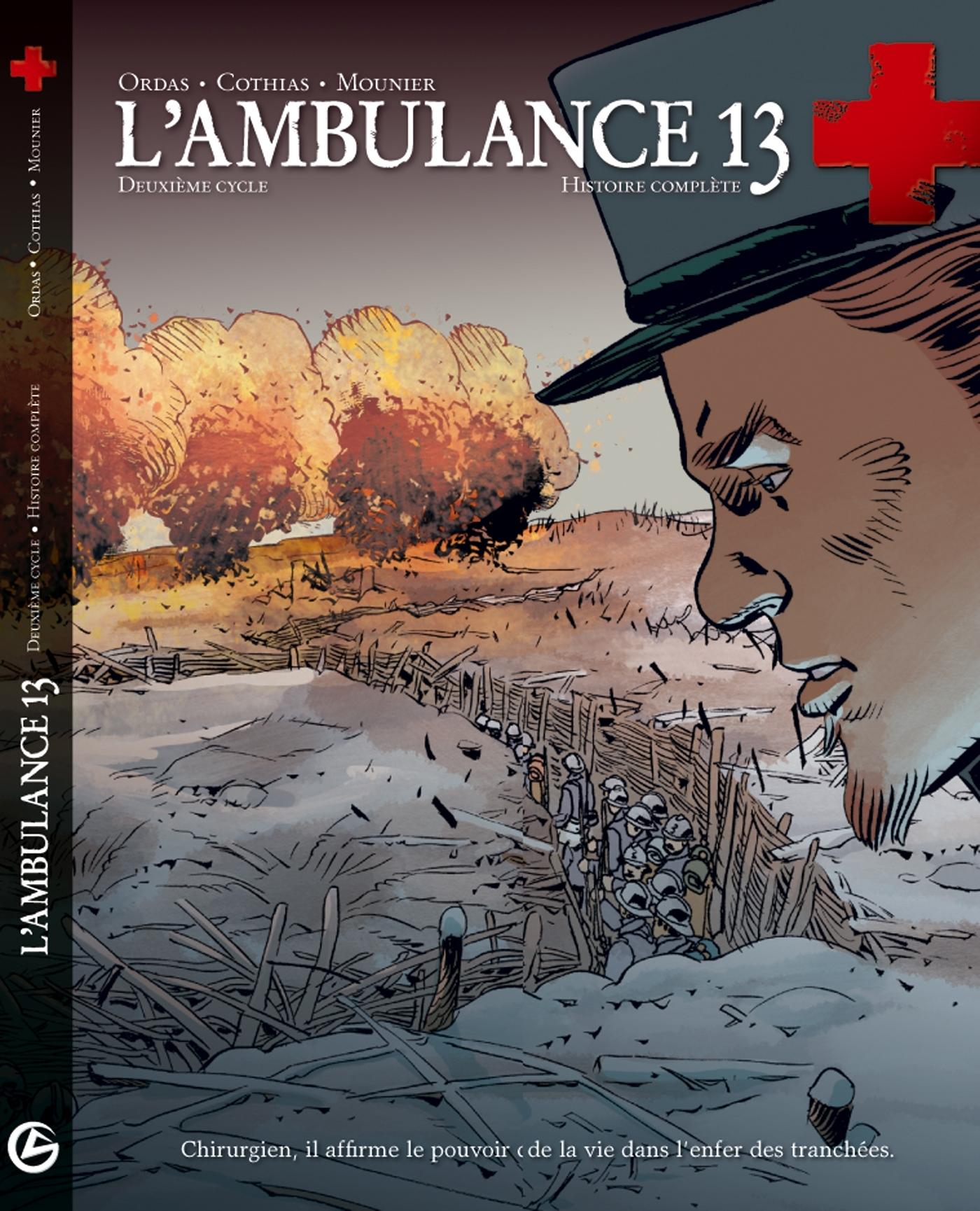 L AMBULANCE 13 ETUI 2EME CYCLE T3-T4