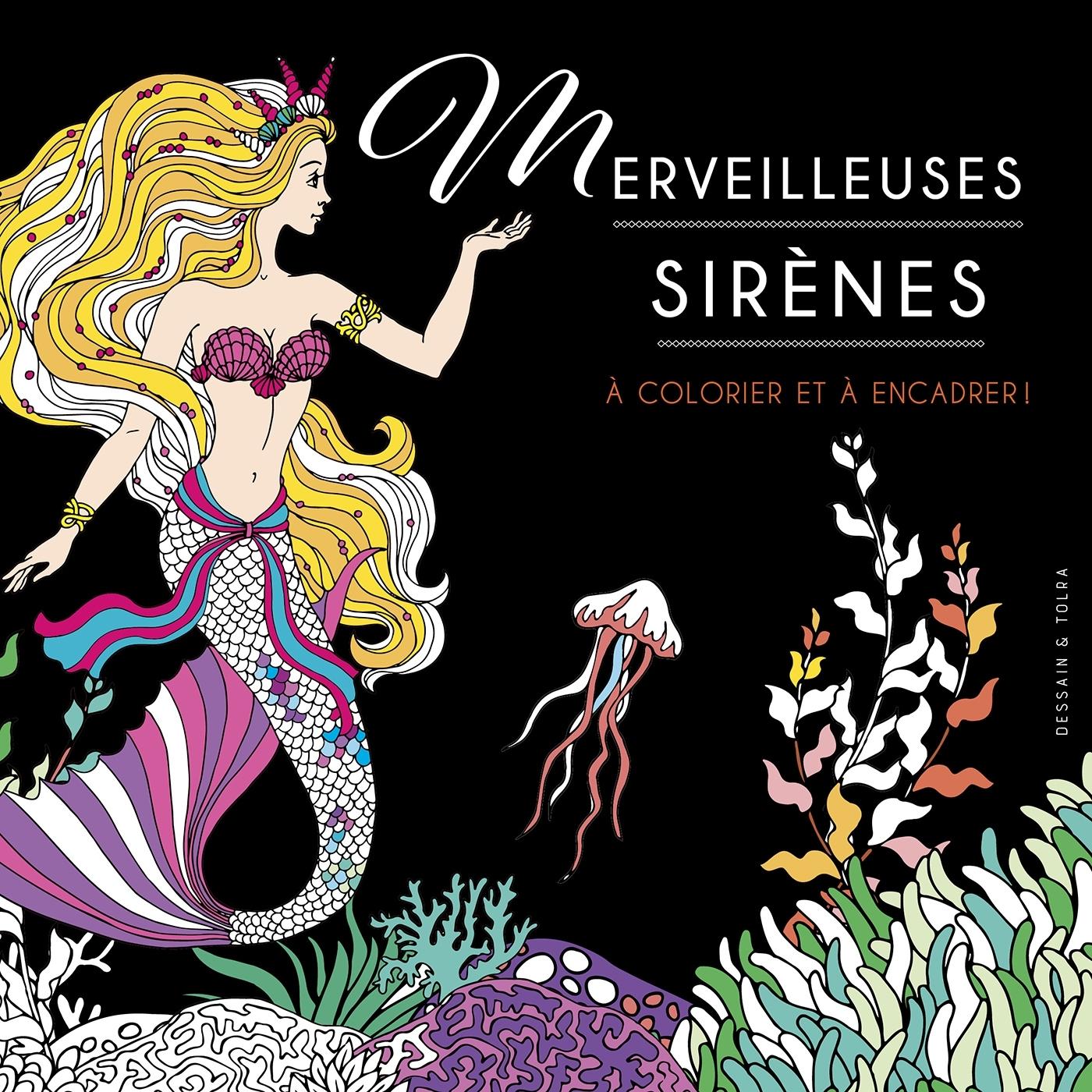 SIRENES - A COLORIER ET A ENCADRER