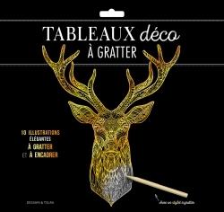 TABLEAUX DECO A GRATTER