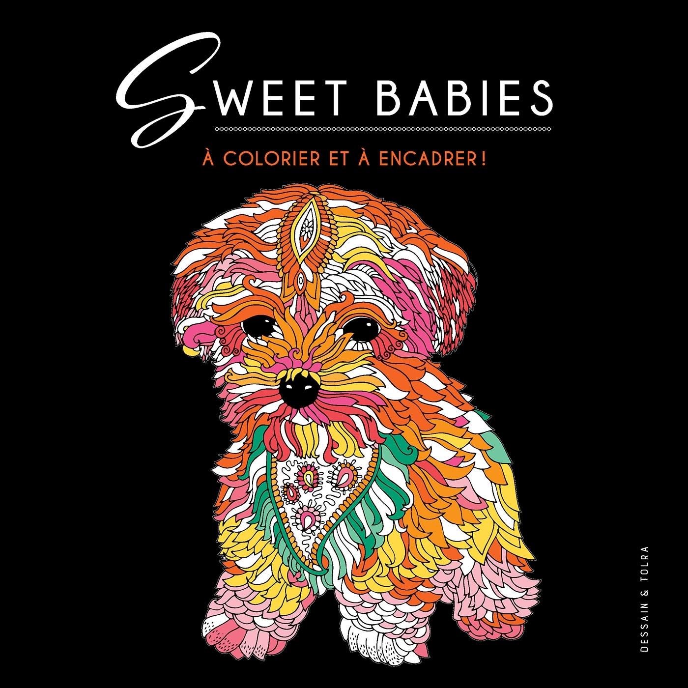SWEET BABIES - A COLORIER ET A ENCADRER