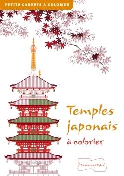 TEMPLES JAPONAIS A COLORIER