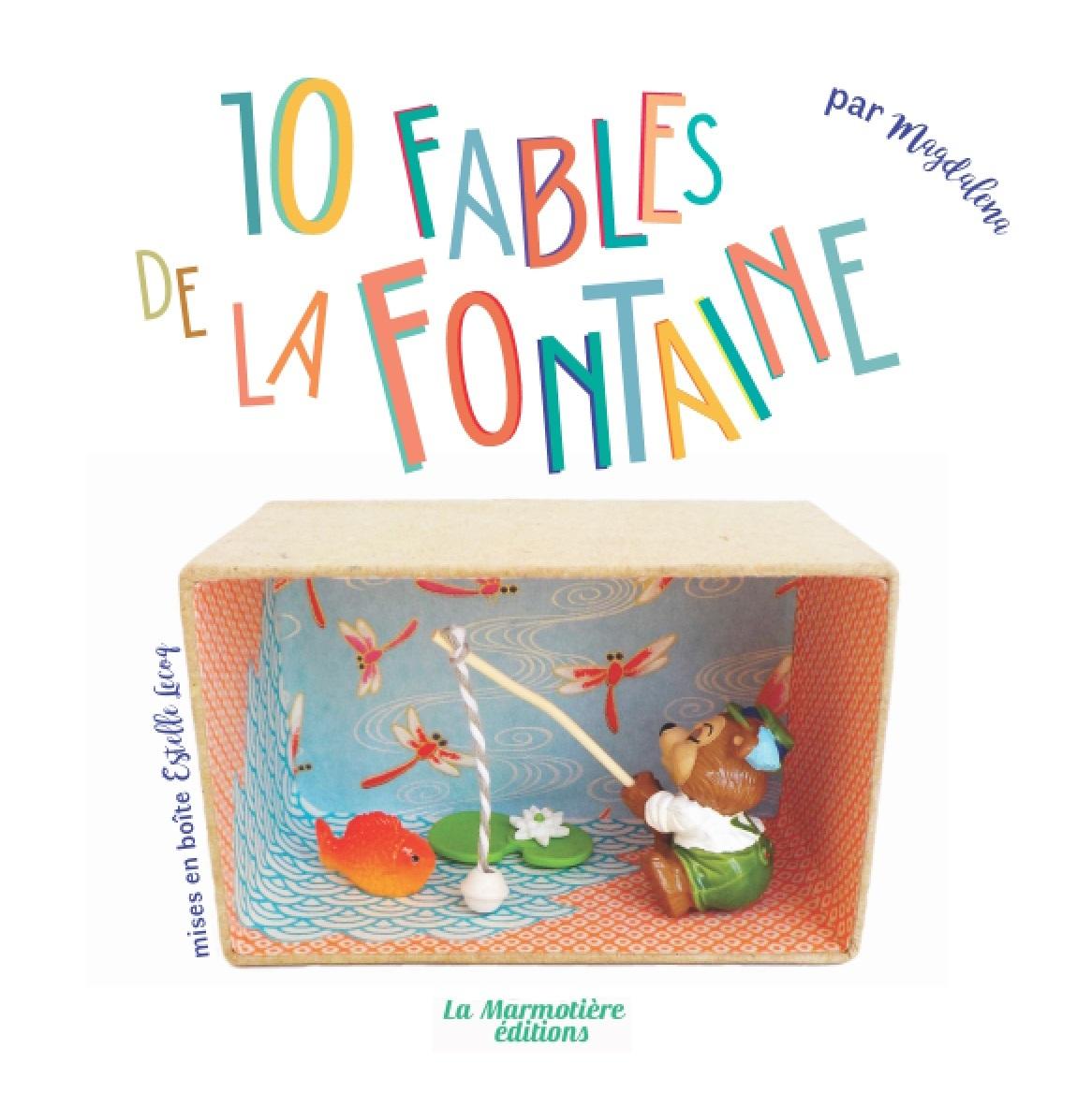 10 FABLES DE LA FONTAINE