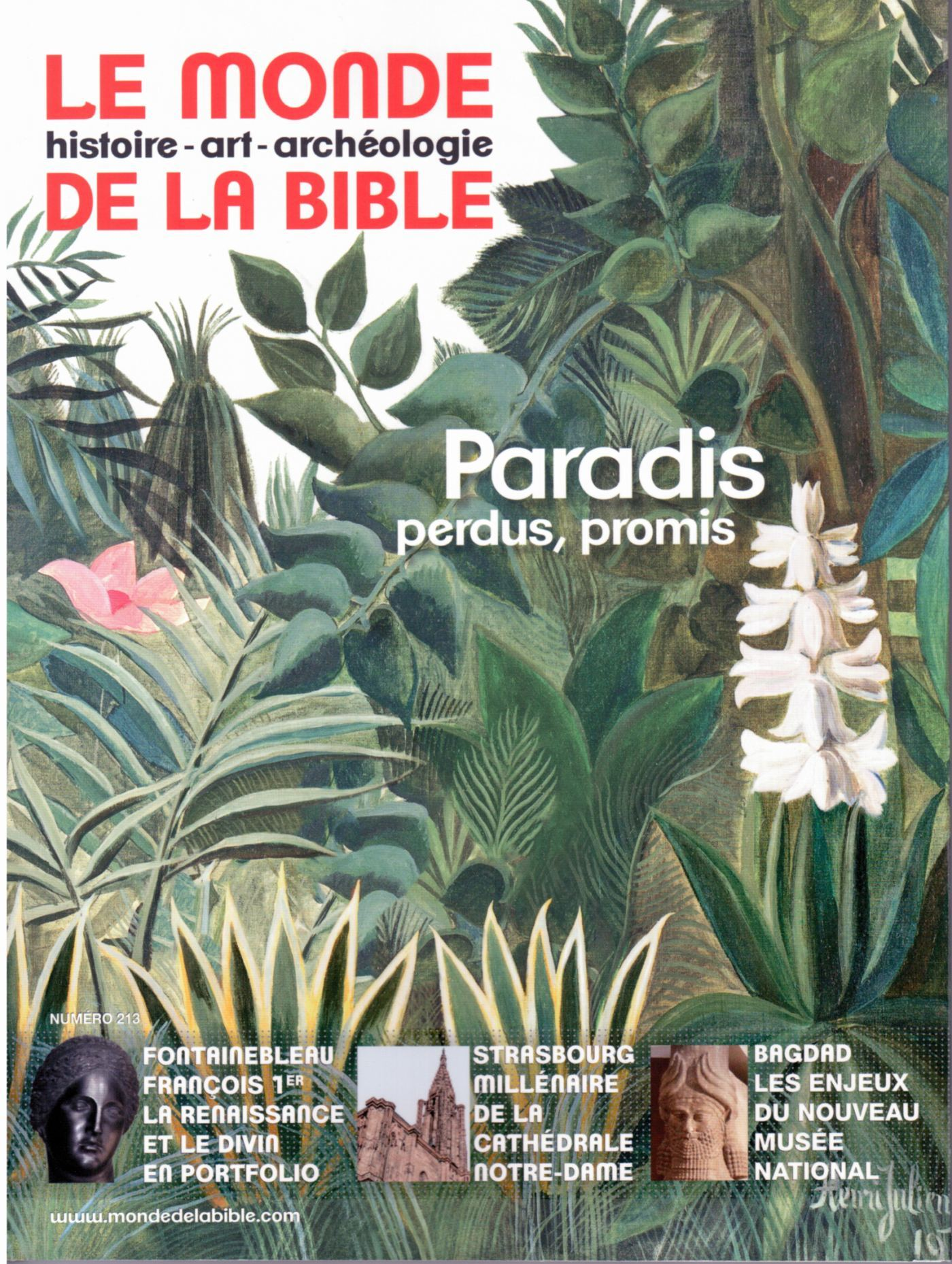 MONDE BIBLE 213 PARADIS PROMIS PARADIS PERDUS
