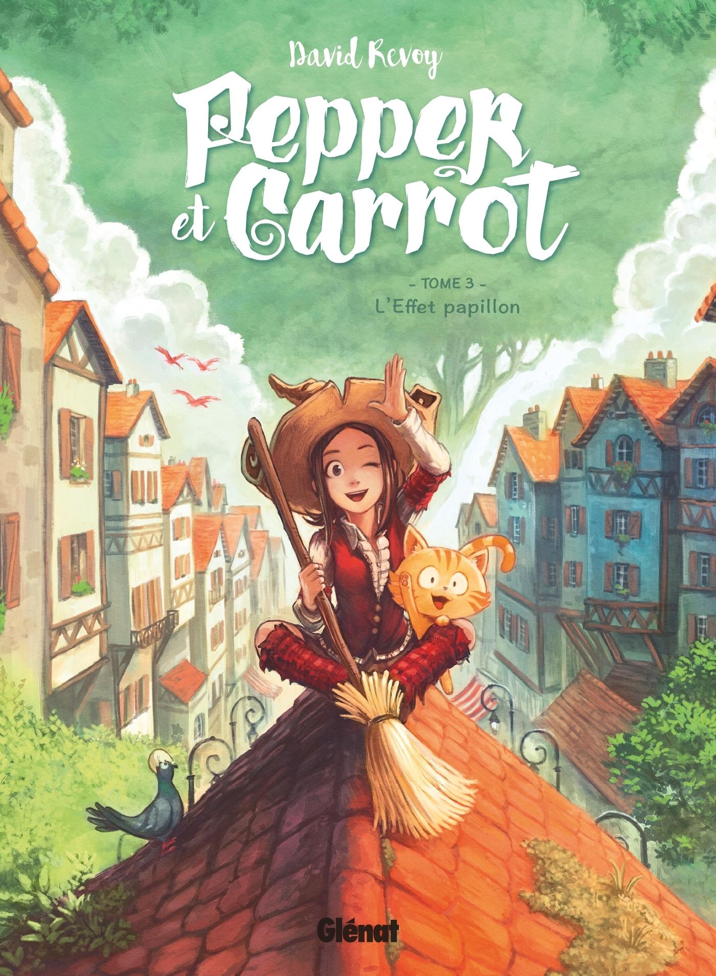 PEPPER ET CARROT - TOME 03 - L'EFFET PAPILLON