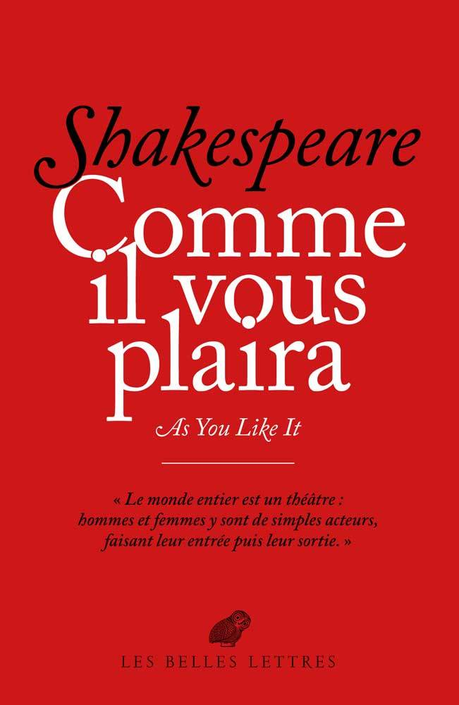 COMME IL VOUS PLAIRA / AS YOU LIKE IT