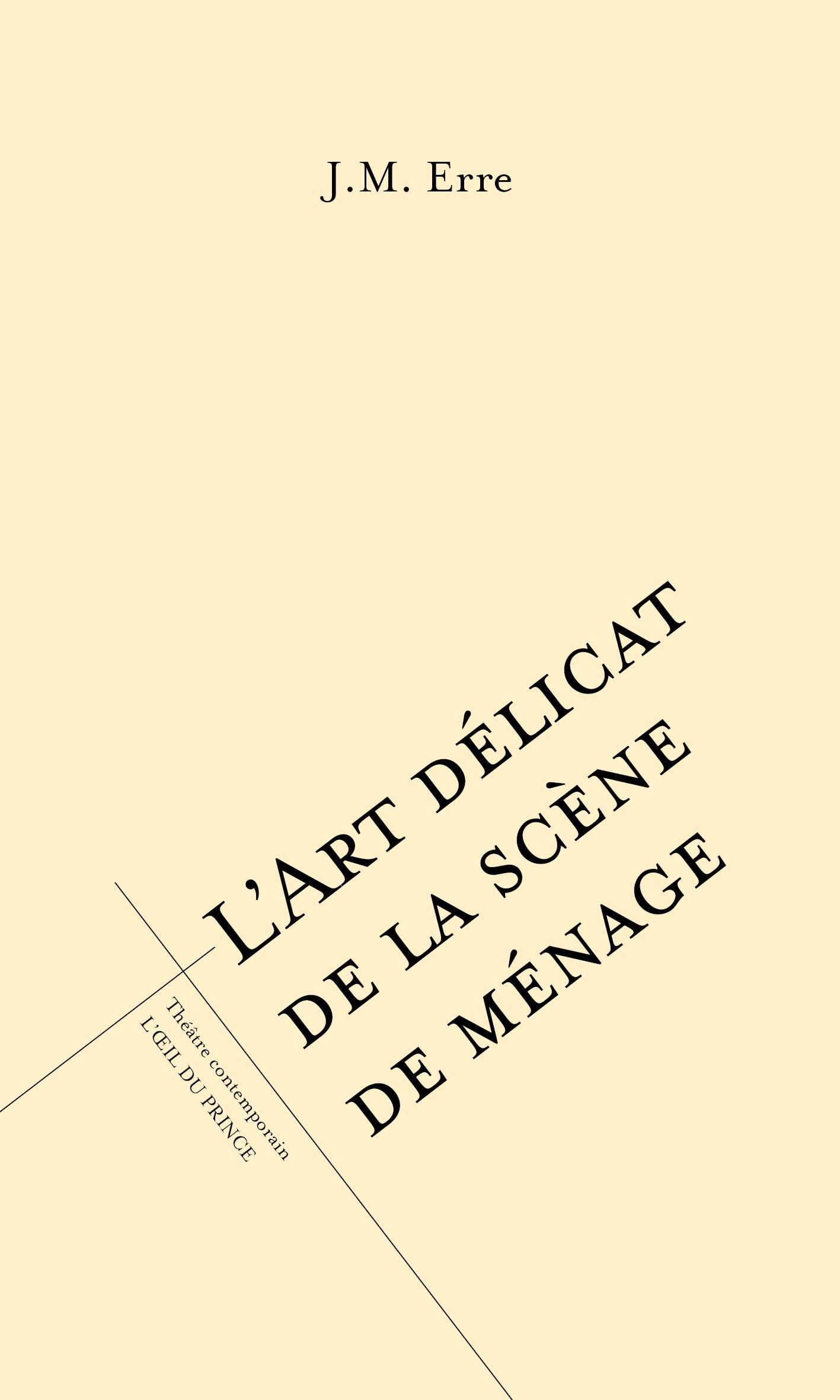 L'ART DELICAT DE LA SCENE DE MENAGE