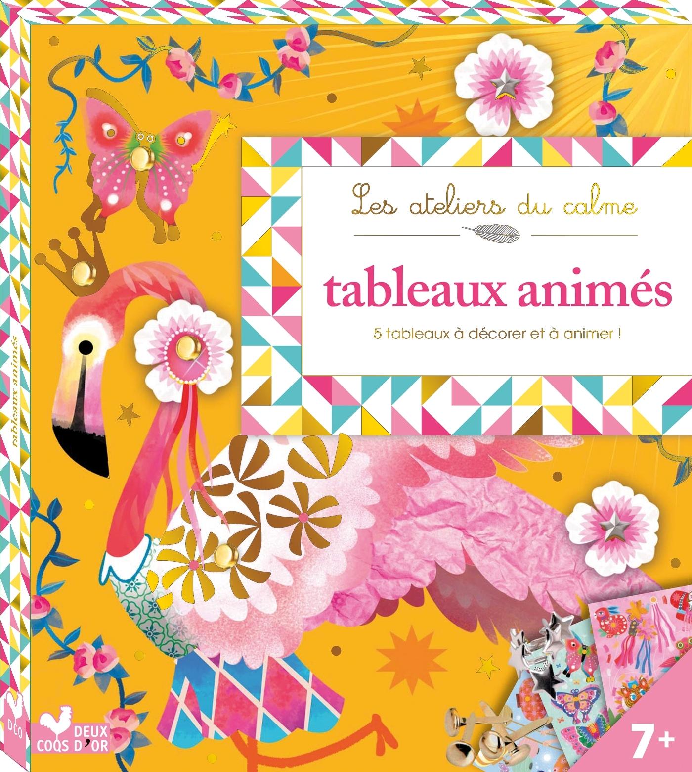 TABLEAUX ANIMES - BOITE AVEC ACCESSOIRES