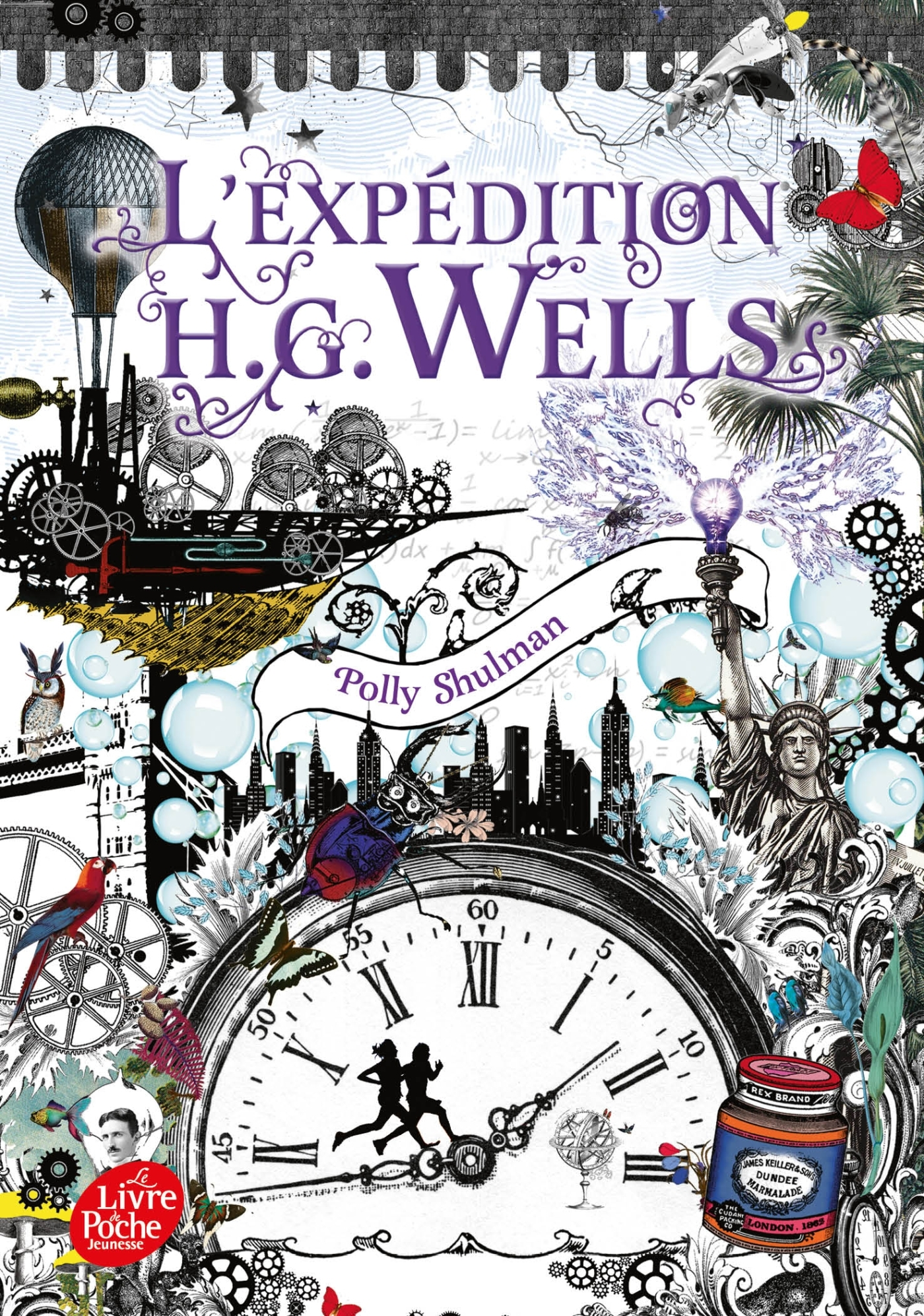 LA MALEDICTION DE GRIMM - T02 - L'EXPEDITION H.G. WELLS - LA MALEDICTION GRIMM - TOME 2