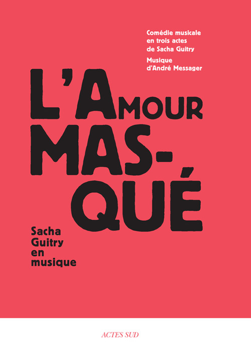 L'AMOUR MASQUE + 2CD OFFERTS