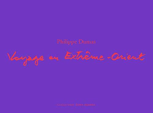 VOYAGE EN EXTREME-ORIENT - CARNET DE CROQUIS