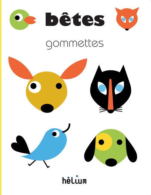 BETES - JEUX DE GOMMETTES