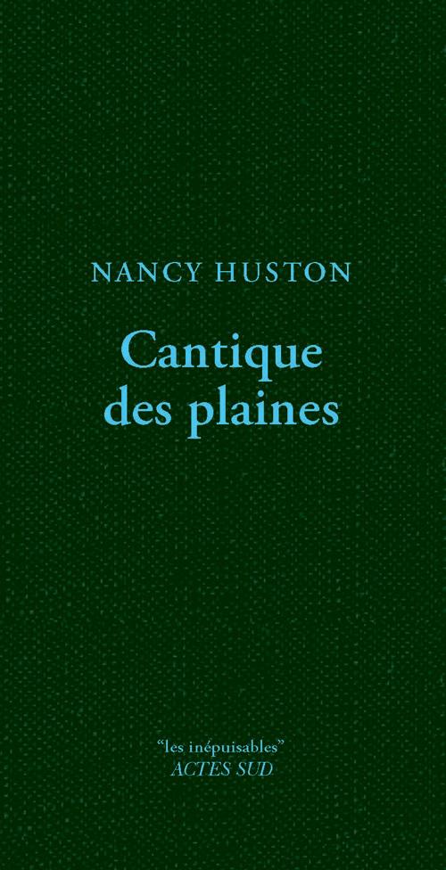 CANTIQUE DES PLAINES ROMAN