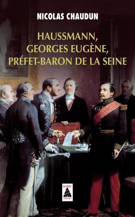 HAUSSMANN, GEORGES EUGENE, PREFET-BARON DE LA SEINE BABEL 1169