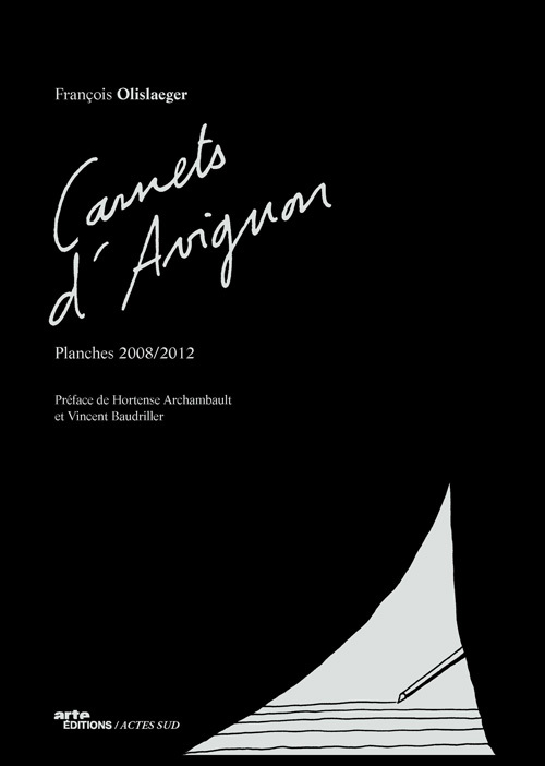 CARNETS D'AVIGNON PLANCHES 2008-2012