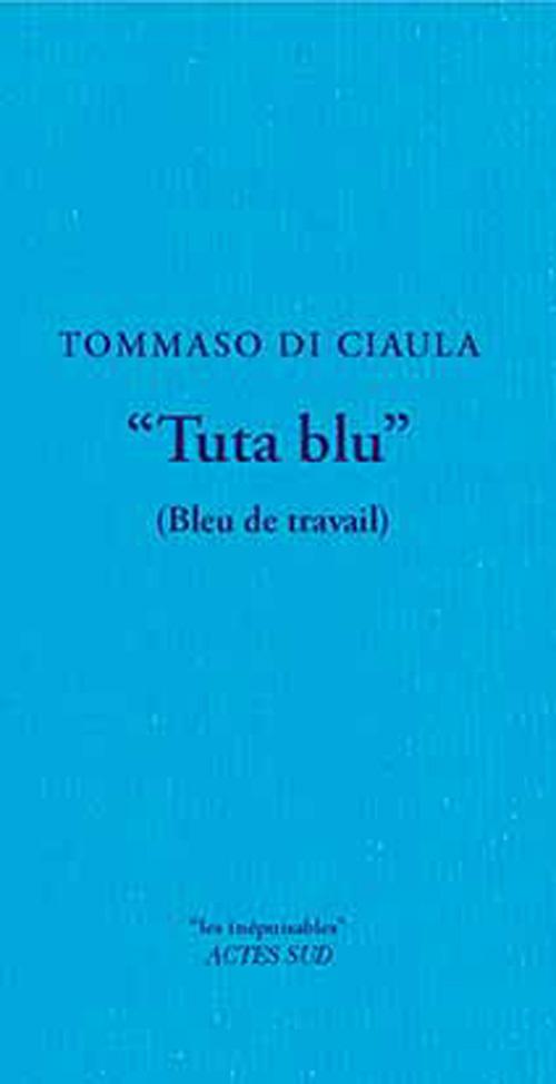 TUTA BLU - (BLEU DE TRAVAIL)