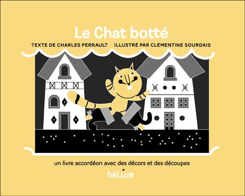 LE CHAT BOTTE (LIVRE ACCORDEON)