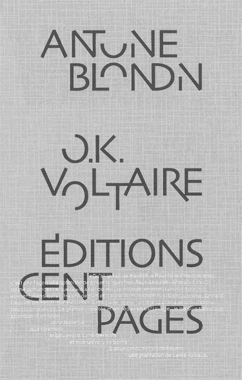 O.K. VOLTAIRE