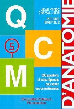 QCM ANATOMIE