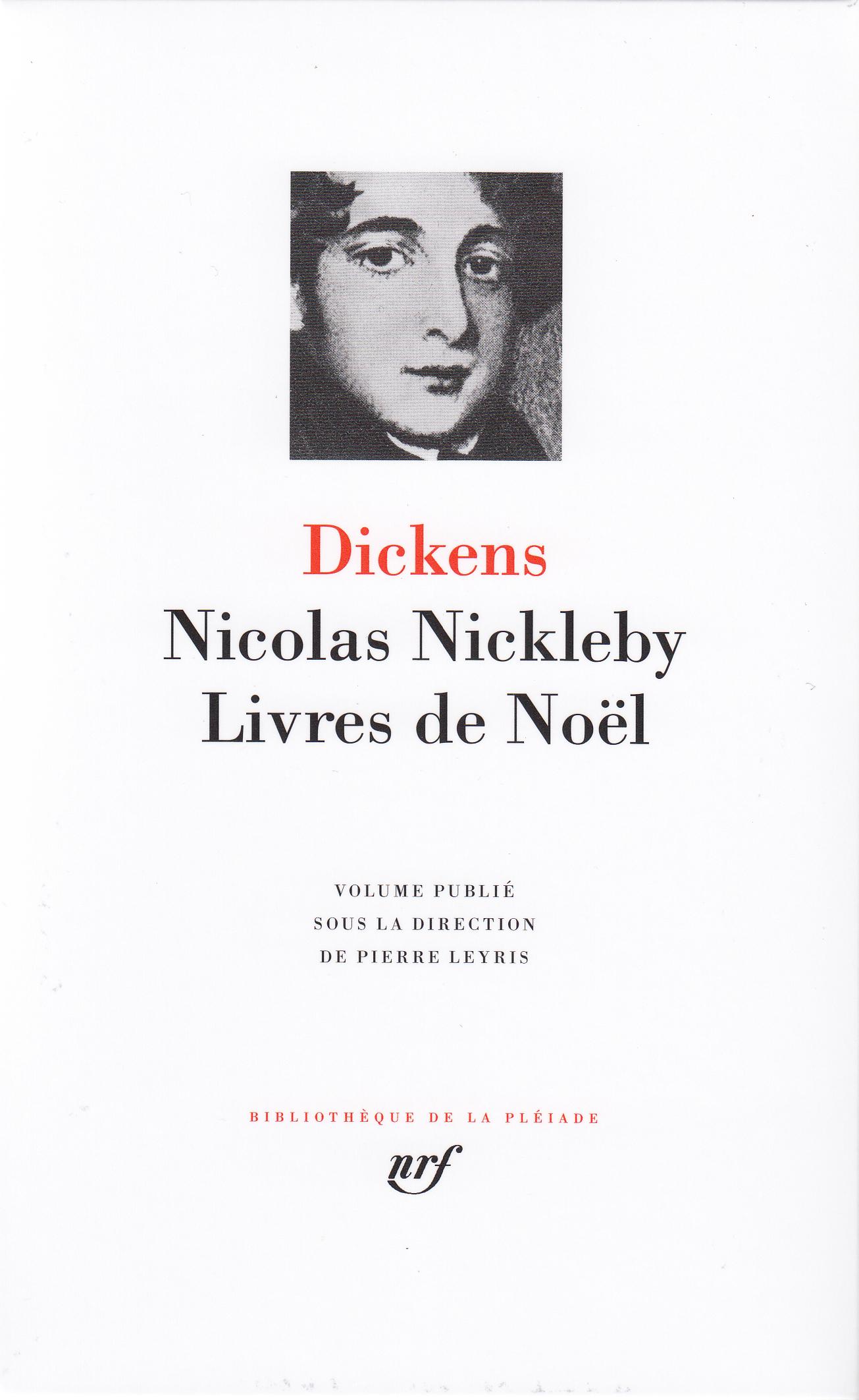 NICOLAS NICKLEBY - LIVRES DE NOEL