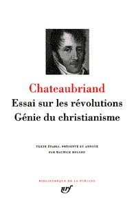 ESSAI SUR LES REVOLUTIONS - GENIE DU CHRISTIANISME