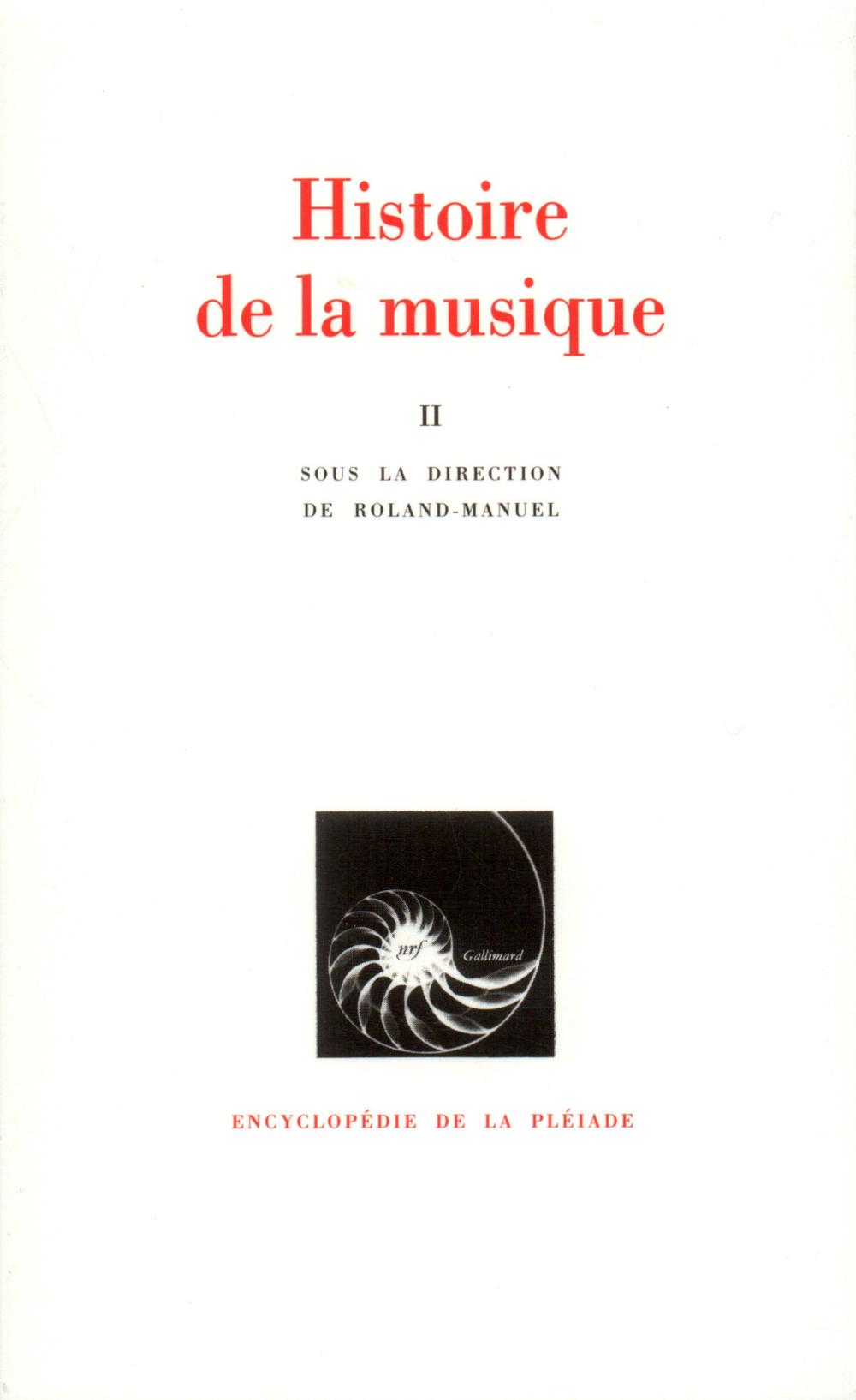HISTOIRE DE LA MUSIQUE T2