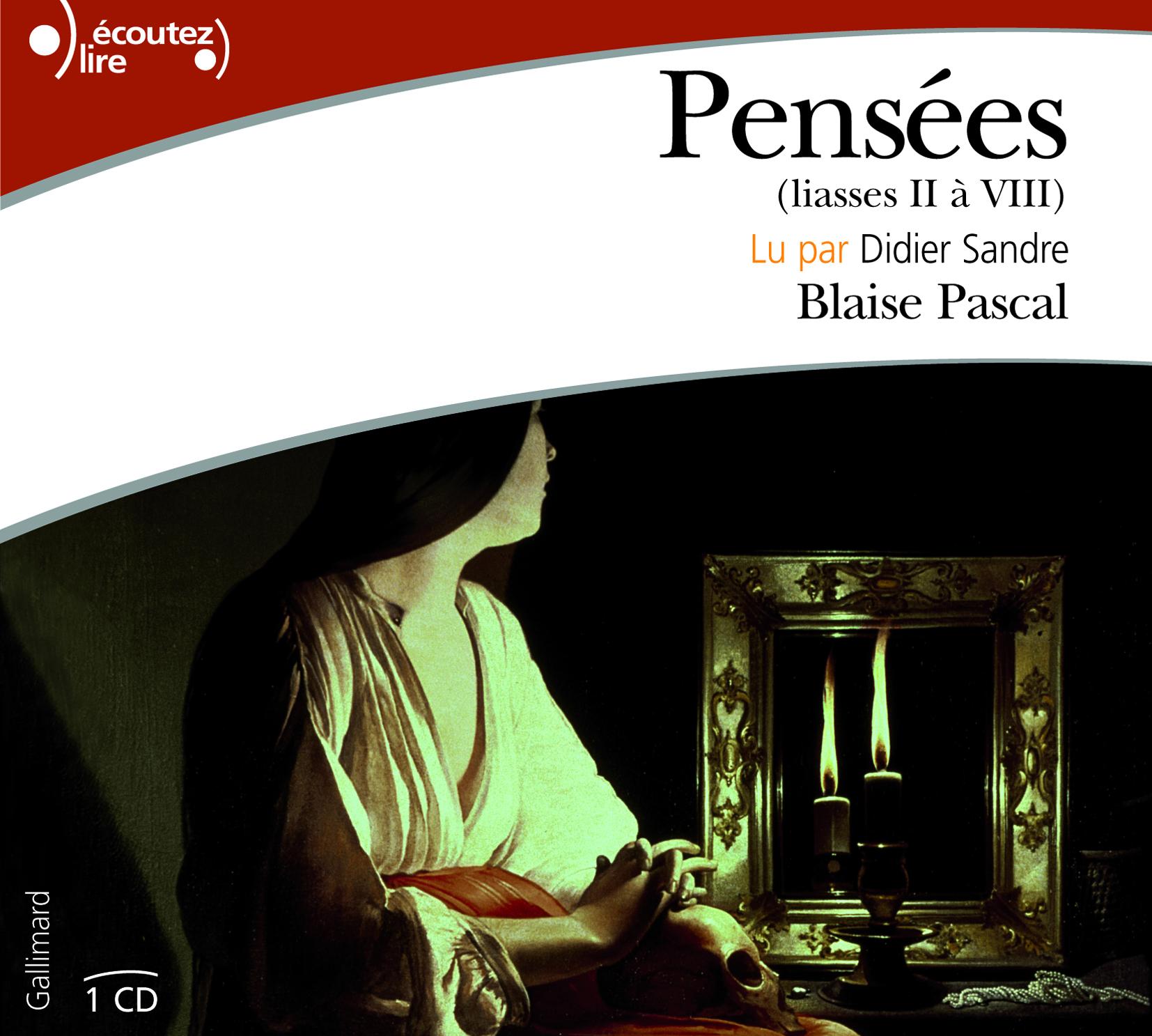 PENSEES CD - (LIASSES II A VIII)