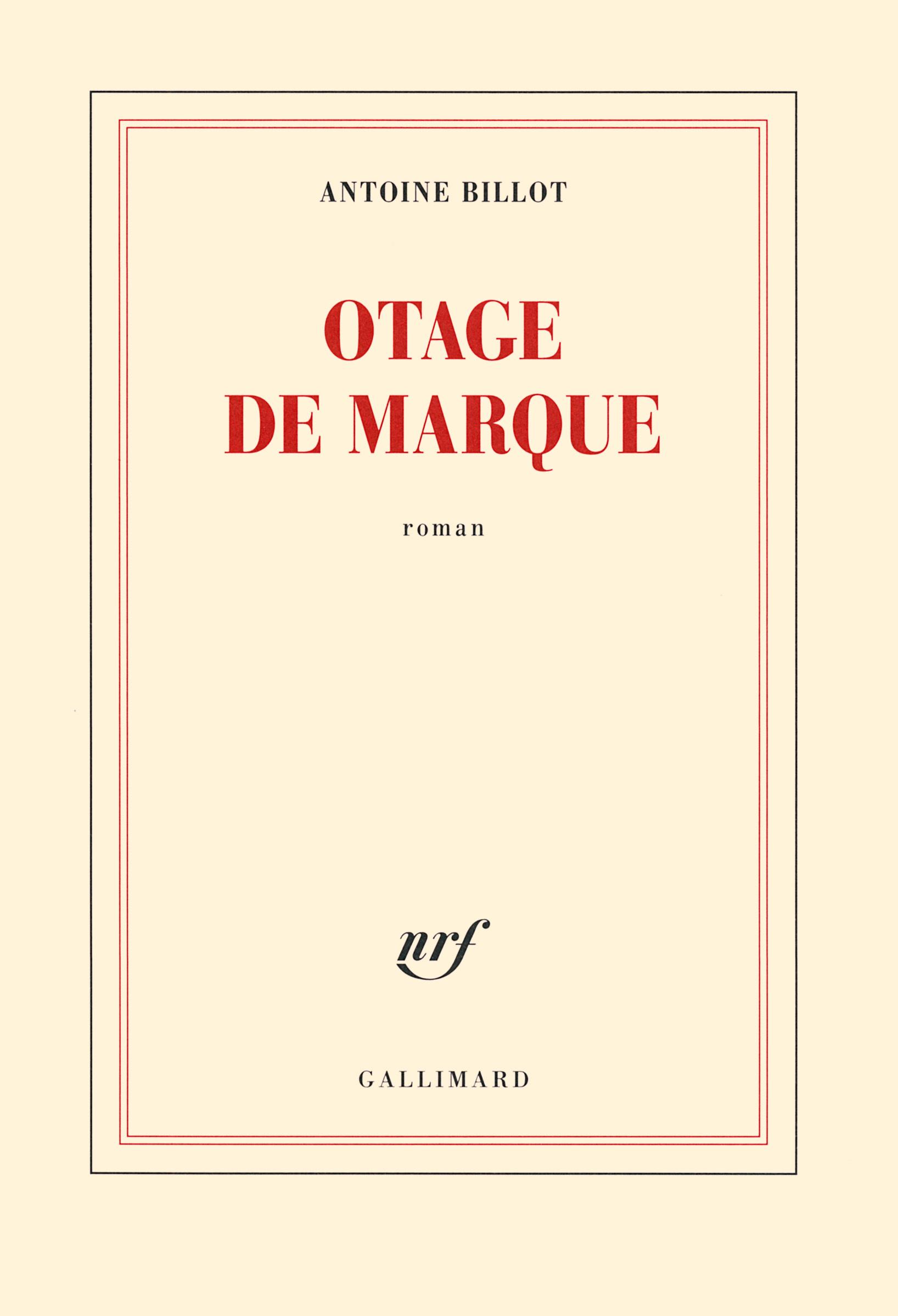OTAGE DE MARQUE ROMAN