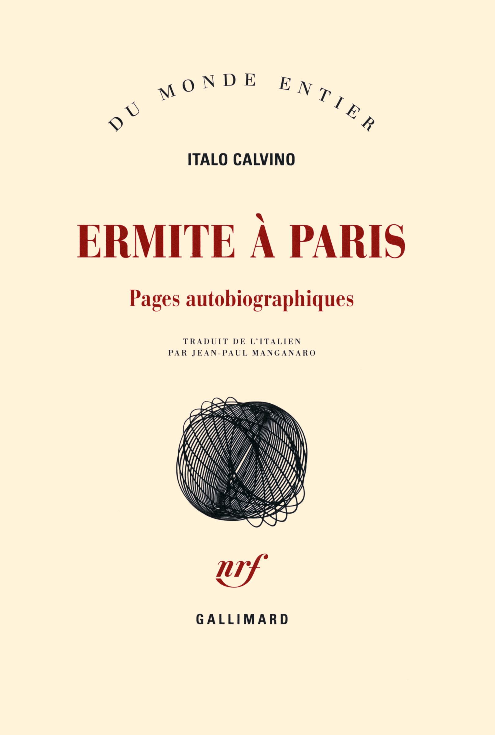ERMITE A PARIS PAGES AUTOBIOGRAPHIQUES