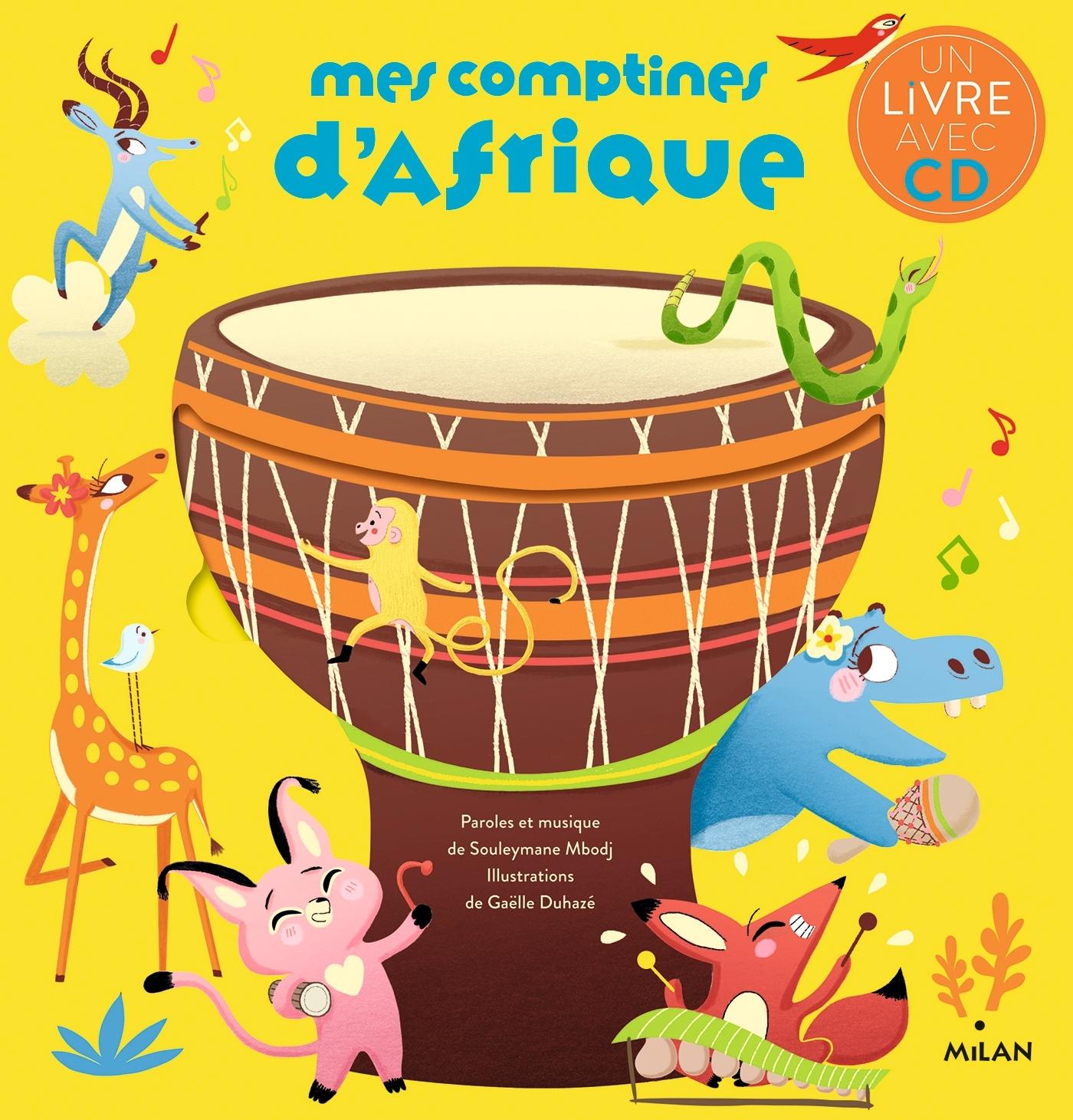 MES COMPTINES D'AFRIQUE + CD NE