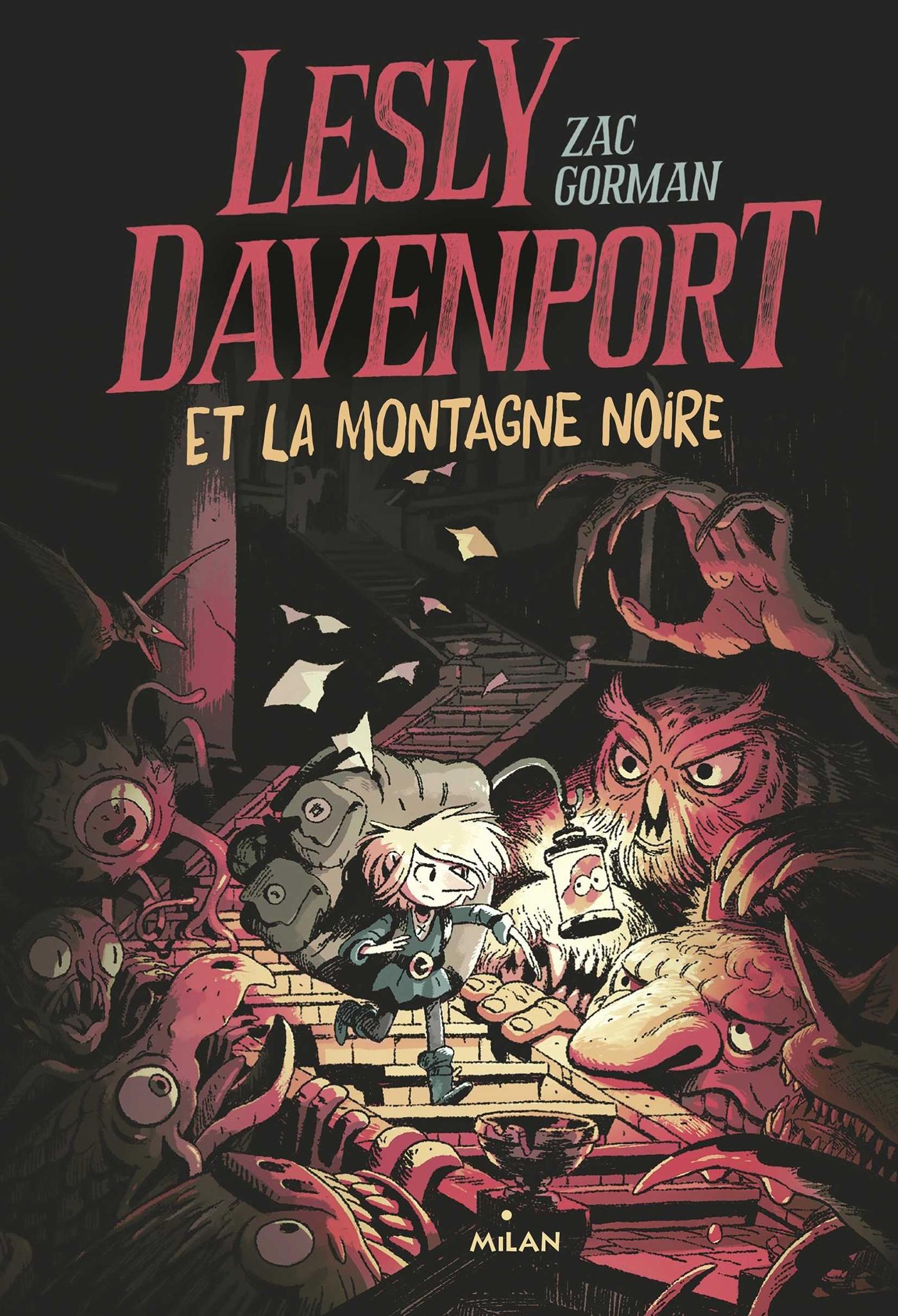 LESLY DAVENPORT ET LA MONTAGNE NOIRE