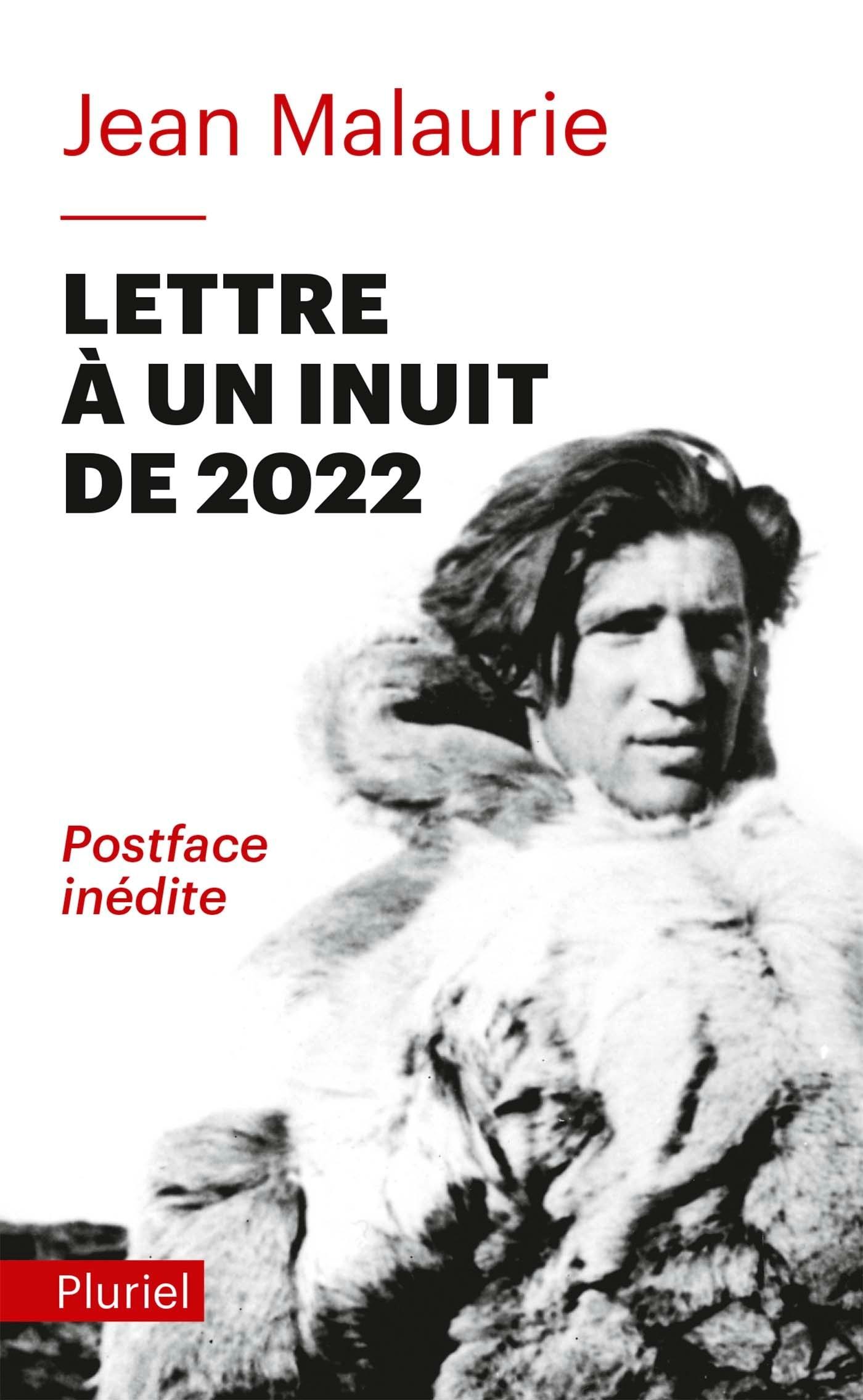 LETTRE A UN INUIT DE 2022