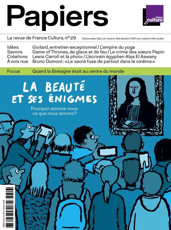 PAPIERS, LA REVUE DE FRANCE CULTURE, N 29