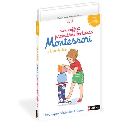 MON COFFRET PREMIERES LECTURES MONTESSORI LA BOTTE DE SUZI - 3 HISTOIRES - NIVEAU 1 - VOL10