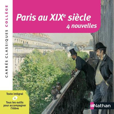 NOUVELLES PARIS AU XIXE SIECLE (ANTHOLOGIE)
